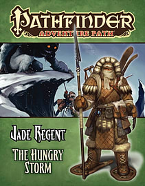 Pathfinder Adventure Path: Jade Regent Part 3 - Hungry Storm (Paperback) Books