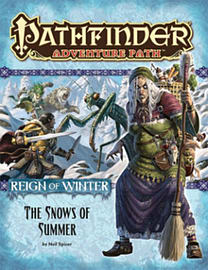 Pathfinder Adventure Path: Reign of Winter Part 1 - The Snows of Summer (Paperback) Books