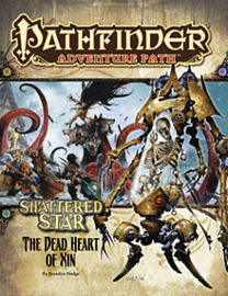 Pathfinder Adventure Path: Shattered Star Part 6 - The Dead Heart of Xin (Paperback) Books