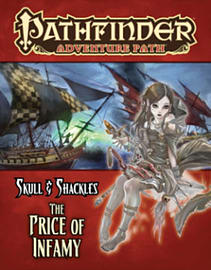 Pathfinder Adventure Path: Skull & Shackles Part 5 - The Price of Infamy (Paperback) Books