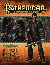Pathfinder Adventure Path: The Serpent's Skull Part 5 - The Thousand Fangs Below (Pathfinder Adventu Books