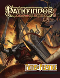 Pathfinder Campaign Setting: Paths of Prestige (Paperback) Books