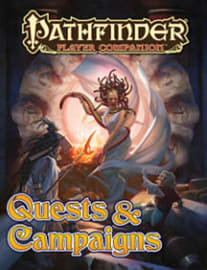 Pathfinder Player Companion: Quests & Campaigns (Paperback) Books