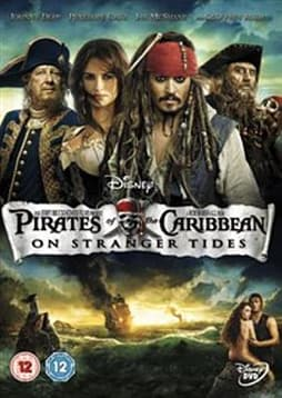 Pirates of the Caribbean: On Stranger Tides [DVD] DVD