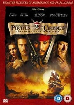 Pirates Of The Caribbean - The Curse Of The Black Pearl - 1 disc [DVD] DVD