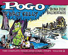 Pogo Vol. 2 (Pogo: The Complete Syndicated Comic Strips) (Hardcover) Books
