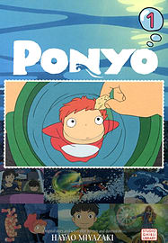 Ponyo Film Comic, Vol. 1 (PONYO ON THE CLIFF) (Paperback) Books