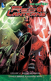 Red Lanterns Volume 4 TP (The New 52) (Paperback) Books