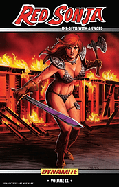 Red Sonja: She-Devil With a Sword TP Vol 9 Machines of Empire TP (Paperback) Books