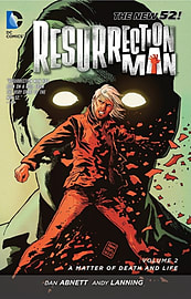 Resurrection Man Volume 2: A Matter of Death and Life (The New 52) (Paperback) Books