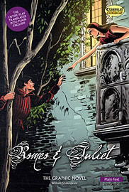 Romeo and Juliet The Graphic Novel: Plain Text (British English) (Paperback) Books