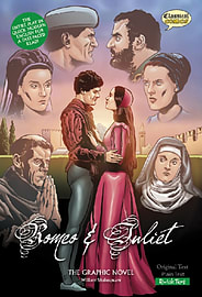 Romeo and Juliet The Graphic Novel: Quick Text (British English) (Paperback) Books