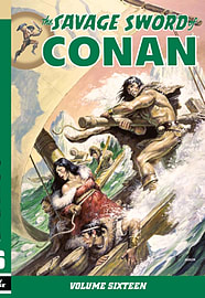 Savage Sword of Conan Vol.16 (Paperback) Books