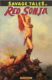 Savage Tales Of Red Sonja (Paperback) Books