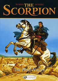 Scorpion, The Vol.3: The Holy Valley (Scorpion (Cinebook)) (Paperback) Books