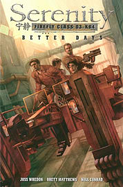 Serenity, Vol. 2: Better Days (Paperback) Books