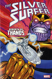 Silver Surfer: Rebirth of Thanos (Paperback) Books