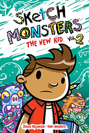 Sketch Monsters Book 2: The New Kid (Hardcover) Books