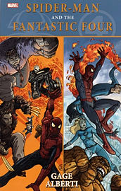 Spider-Man/Fantastic Four (Spider-Man (Graphic Novels)) (Paperback) Books