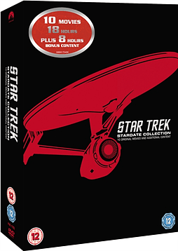 Star Trek: Stardate Collection - The Movies 1-10 (Remastered) [DVD] [1979] DVD