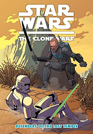 Star Wars - The Clone Wars - Defenders of the Lost Temple (Star Wars Clone Wars 12) (Paperback) Books