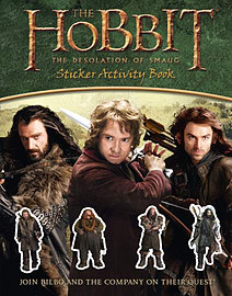 Sticker Activity Book (The Hobbit: The Desolation of Smaug) (Paperback) Books