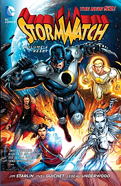 Stormwatch Volume 4: Reset TP (The New 52) (Stormwatch (Numbered)) (Paperback) Books