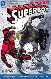 Superboy Volume 2: Extraction TP (The New 52) (Paperback) Books