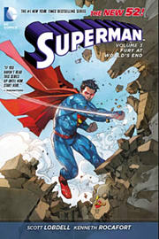 Superman Volume 3: Fury at World's End (The New 52) (Superman (DC Comics Numbered)) (Hardcover) Books