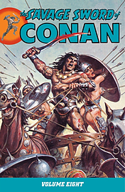 SAVAGE SWORD OF CONAN 8 Books
