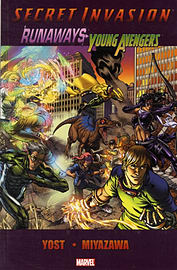 SECRET INVASION: RUNAWAYS YOUNG AVEN Books