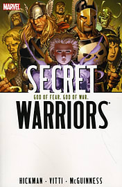 SECRET WARRIORS VOL.2: GOD OF FEAR, Books