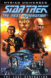 STAR TREK THE LAST GENERATION Books