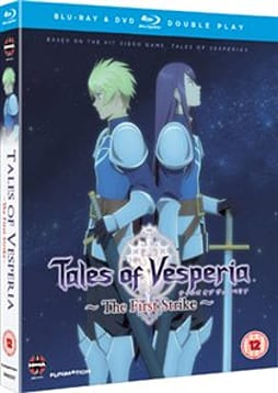 Tales Of Vesperia: The First Strike Blu-ray/DVD Double Play DVD