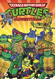 Teenage Mutant Ninja Turtles Adventures Volume 6 Books
