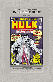 Marvel Masterworks: The Incredible Hulk 1963-64 (Paperback) Books