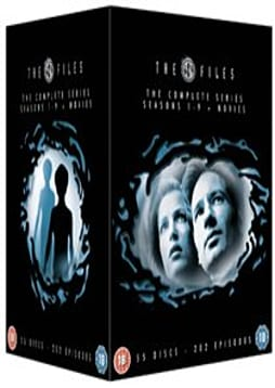 The X Files - Complete Season 1-9 (New packaging) [DVD] DVD