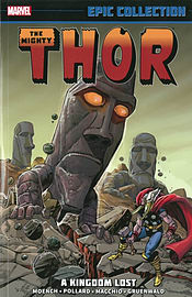 Thor Epic Collection: A Kingdom Lost (Mighty Thor) (Paperback) Books