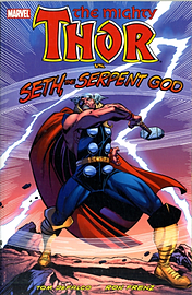 Thor Vs. Seth, the Serpent God (Mighty Thor) (Paperback) Books