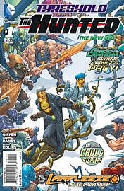 Threshold Volume 1: The Hunted TP (The New 52) (Paperback) Books
