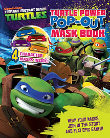 Tmnt Turtle Power Pop Out Mask Book (Teenage Mutant Ninja Turtles) (Paperback) Books