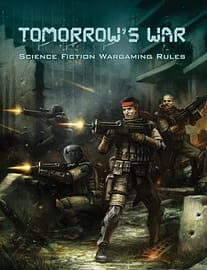 Tomorrow's War (Science Fiction Wargaming Rules) (Hardcover) Books