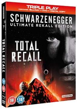 Total Recall - Triple Play (DVD + Blu-ray + Digital Copy) [1990] DVD