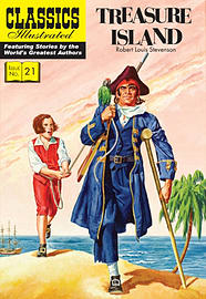 Treasure Island (Classics Illustrated) (Paperback) Books
