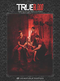True Blood: The Poster Collection (Posters) (Paperback) Books