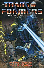 TRANSFORMERS BEST OF UK CITY OF FEAR Books