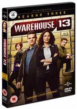 Warehouse 13 - Season 3 [DVD] DVD