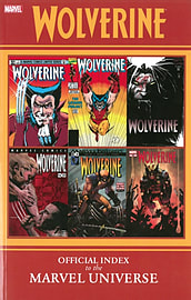 Wolverine: Official Index to the Marvel Universe (Paperback) Books