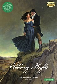 Wuthering Heights the Graphic Novel Quick Text (Classical Comics) (Paperback) Books
