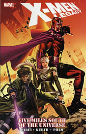X-Men Legacy: Five Miles South of the Universe (X-Men (Marvel Paperback)) (Paperback) Books